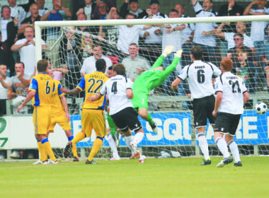 Dartford goal