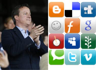 David Cameron v Social Media