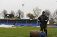 Braintree Town waterlogged pitch