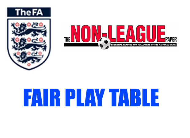 NLP And FA Fair Play Table November 28