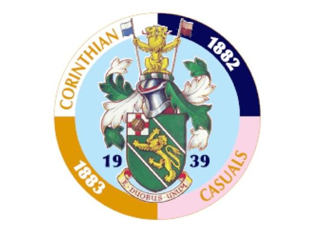 http://www.thenonleaguefootballpaper.com/wp-content/uploads/2013/08/Corinthian-Casuals-badge.jpg