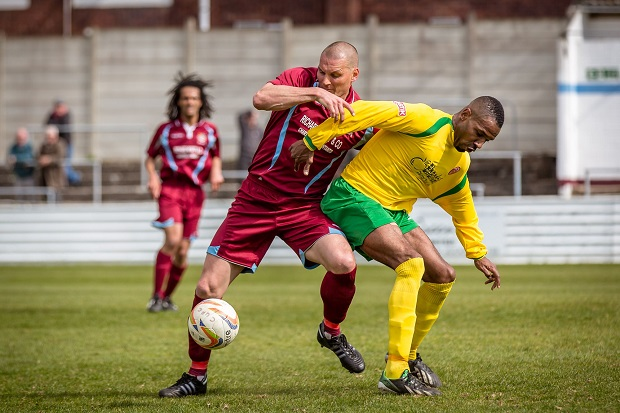 Darren Purse during his time at Chesham United