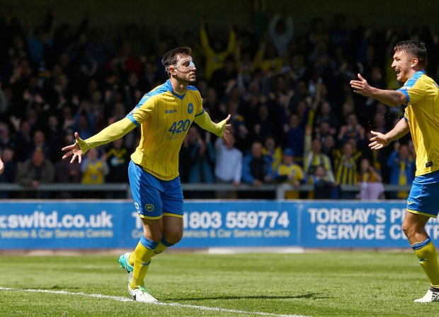 Anderson, Blues, chester, Chester FC, COYB, Gulls, Myles Anderson, National League, NLP, Non-League, Torquay, Torquay United, TUFC