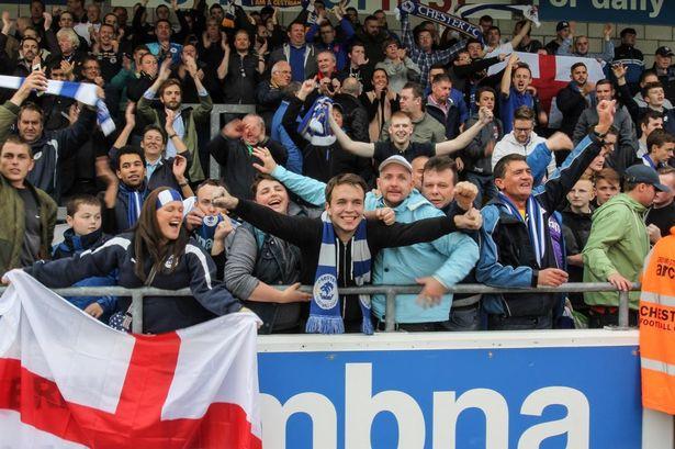 Chester FC Steve Hill Stuart Murphy