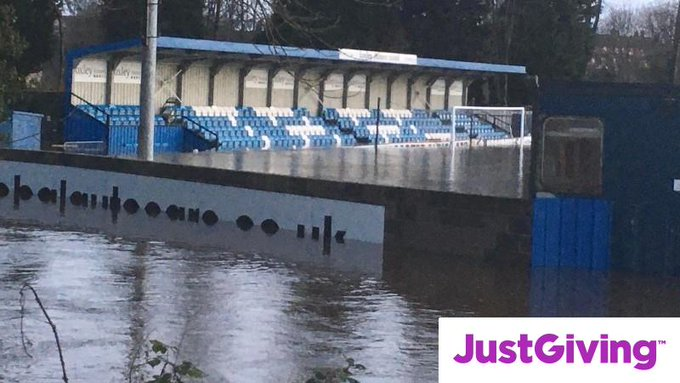SUBMERGED: Tadcaster Albion