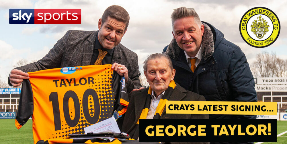 Cray Wanderers George Taylor