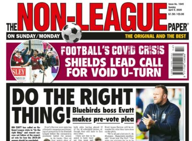 coronavirus The Non-League Paper NLP