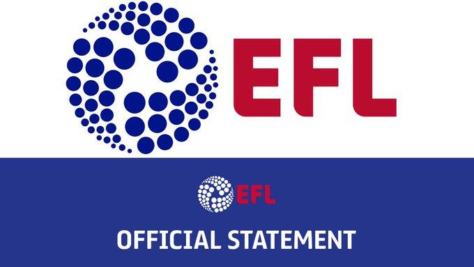 National League EFL statement