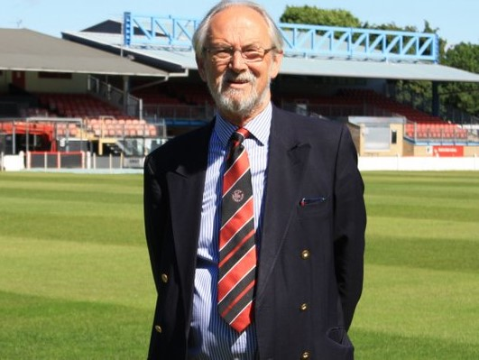 Super Stute Richard Barlow takes over as new chairman of Histon