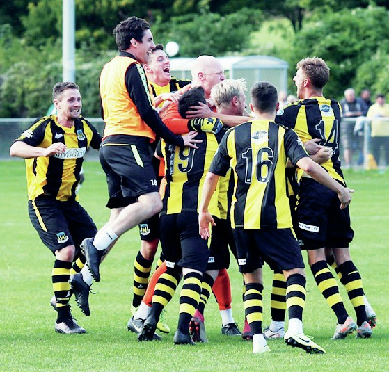 Hebburn Town manager Kevin Bolam will not give up his Wembley dream